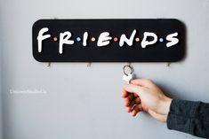 Friends TV Show Key Holder F.R.I.E.N.D.S Sign Central Perk Friends Show Gift Friends Logo Key Holder For Wall Key Rack Custom Key Holder