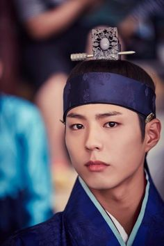 Park Bo Gum looks shockingly handsome in bts cuts from 'Moonlight Drawn by Clouds'   allkpop.com