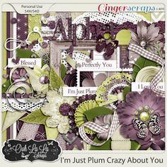 {I'm Just Plum Crazy About You} Digital Scrapbook Kit by Ooh La La Scraps available at Gingerscraps http://store.gingerscraps.net/I-m-Just-Plum-Crazy-About-You-Digital-Scrapbook-Kit.html #digiscrap #digitalscrapbooking #oohlalascraps #imjustplumcrazyaboutyou