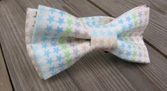 baptism outfit pink bow tie ring bear boy bow tie childrens bow tie orange bow tie teal bow tie wedding blue groomsman bow tie for boys star by KoppSHOPP on Etsy