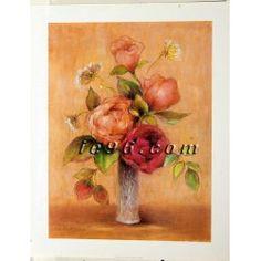 """FREE USA SHIPPING! Art Print By A. Pritchard Floral AP0304 Size (22"""" x 28"""")"""