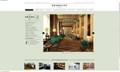 Soho Grand #hotel #web design