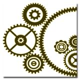 steampunk gears and cogs drawing Steampunk Images, Steampunk Crafts, Steampunk Gears, 3d Templates, Stencil Templates, Stencil Designs, Silhouette Cameo, Maker Fun Factory Vbs, Images Vintage