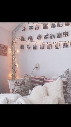 i really like the photos across the wall