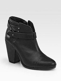 innovative design a7650 12df0 Also love them in black leather - Rag   Bone Harrow Leather Ankle Boots