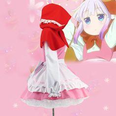 Aliexpress.com: Comprar Anime Señorita Kobayashi Dragón Mucama Cosplay Kobayashi san Chi no Kanna Kamui Dragón Anime Cosplay Lolita Maid Uniforme vestido de maid cosplay fiable proveedores en Commodities Wholesale