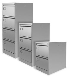 These commercial quality filing cabinets are made with sustainable steel and carry a 10 year warranty.