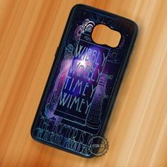 Police Box Quote Dr Who - Samsung Galaxy S7 S6 S5 Note 7 Cases & Covers