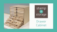 Drawer Cabinet 2019 Providing paper crafters with high-quality space-efficient storage to organize their craft and unleash creativity. The post Drawer Cabinet 2019 appeared first on Storage ideas. Washi Tape Storage, Craft Paper Storage, Stamp Storage, Bead Storage, Storage Drawers, Scrapbook Organization, Craft Organization, Craft Storage Ideas For Small Spaces, Basement Craft Rooms