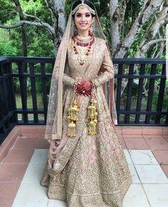 Outfit: Sabyasachi | Makeup: Shahid Naar