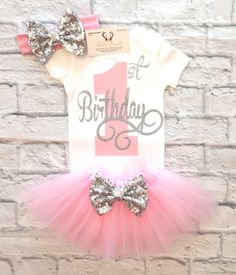 A personal favorite from my Etsy shop https://www.etsy.com/listing/515502448/baby-girl-clothes-first-birthday