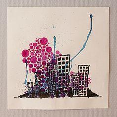 City (1) / by Sasj  Ecoline / Art