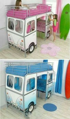 autobett bus inkl lattenrost einlegeboden rennautobett spielbett kinderbett hochbett amazon. Black Bedroom Furniture Sets. Home Design Ideas