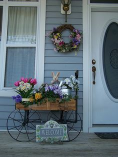 spring wagon via Flickr