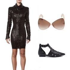 Astro-Chic #kultlike #style #blackdress #outfit