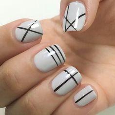 77 Best Line nail art images