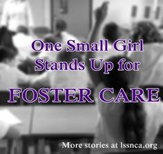 8 year-old Allison tackles a major foster care misconception