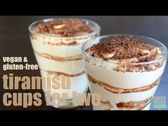 tiramisu cups (vegan & gluten-free) Something Vegan - YouTube