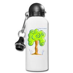 Cantimplora Raíces - Root Bottle  #Shop #Gift #Tienda #Regalos #Diseño #Design #LaMagiaDeUnSentimiento #MaderaYManchas #Bottle #cantimplora #Nature #Tree #Forest    Creación inspirada en los aprendizajes con nuestros amigos, compañeros y guías: los árboles.Recogen la Luz, proporcionan oxígeno y, con sus raíces, la anclan en la Tierra. Shirt Designs, Tattoo Shirts, Girl Tattoos, Water Bottle, Day, Gifts, Learning, The Creation, Bottles