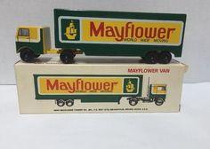 Vintage Aero Mayflower Van World Wide Moving Ralstoy 18 & 26 Toy Truck in Box #Mayflower