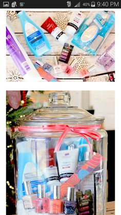 Gift in a jar.