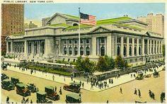 Biblioteca pública de Nueva York, 1920