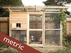 The Garden Coop walk-in chicken coop plans give you the foundation —and the freedom —to build the perfect chicken coop for your backyard flock. Whether youre new to chickens or to carpentry, these plans get you closer to raising your own farm-fresh eggs, without turning your backyard