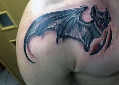 50 Bat Tattoo Designs for Men - Manly Nocturnal Design Ideas Tattoos For Guys, Cool Tattoos, Rough Draft, Tattoos With Meaning, Tattoo Designs Men, Watercolor Tattoo, Mandala, Ink, Inspiration