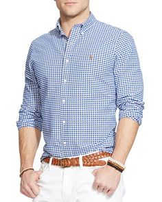 Polo Ralph Lauren Checked Oxford Button Down Shirt - Classic Fit