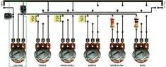 Merangkai Tone Control 5 Chanel | guruKATRO Electronic Circuit Design, Electrical Circuit Diagram, Hifi Amplifier, Power Supply Circuit, Speaker Plans, Electronic Schematics, Hobby Electronics, Subwoofer Box, Chanel