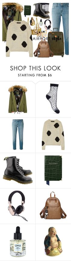 """""""Untitled #242"""" by li-sa-mrie ❤ liked on Polyvore featuring Mr & Mrs Italy, Miss Selfridge, J Brand, The Elder Statesman, Dr. Martens, Bric's, Uma Oils and amika"""