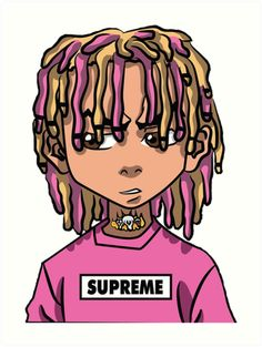 Lil Pump Logo Sticker by JustLikeObama