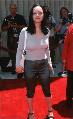 """In the year 1999 Christina was a guest at the premiere of """"Star Wars: Episode I - The Phantom Menace"""" - in my special you can enjoy . Christina Richie, Aquarius, Divas, Selena, Beautiful Christina, Teen Girl Poses, Celebrity Moms, Celebrity Style, Sarah Michelle Gellar"""