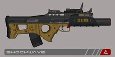 Quicksilver Industries: 'Rattlesnake' AR by Shockwave9001 on DeviantArt