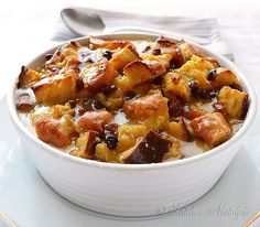 This easy bread recipe for old-fashioned bread pudding is a dessert recipe that is popular in many countries around the world. You will find this easy bread recipe made in countries to include Europe, North Pudding Recipes, Casserole Recipes, Easy Bread Recipes, Cooking Recipes, Yummy Recipes, Free Recipes, Copycat Recipes, Popular Recipes, Old Fashion Bread Pudding Recipe