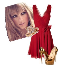 """""""Red"""" by gabspretty ❤ liked on Polyvore"""