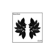 Ref: CL008 Black Bird . Medidas: 4 cm x 2.5 cm . So Oh: 9.99 . Disponível para entrega imediata! Boas compras! #sooh_store #onlinestore #brincos #earrings #fashion