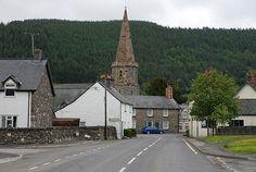 Llandrillo Village  - www.rivercatcher.co.uk