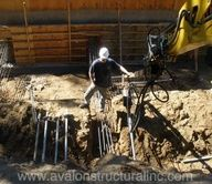 Helix piers are a cost efffective solution for many foundation challenges here in Santa Cruz County.