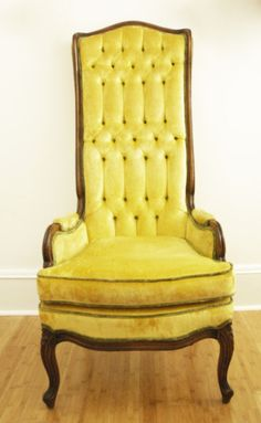 Curious statement chair