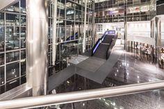 Interieur renovatie – The New Atrium Amsterdam #harryvan # interieur #ontvangstruimte #stalentrap #thenewatrium