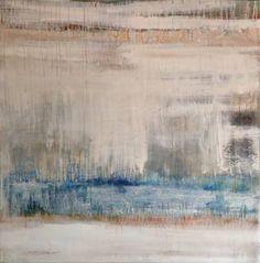 """A Blue Note,"" original abstract painting by artist Hennie van de Lande (Netherlands) available at Saatchi Art. #SaatchiArt"