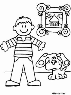 blues clues color page coloring pages for kids cartoon characters coloring pages printable coloring pages color pages kids coloring pages