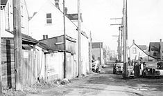 Hogan's Alley, 1958. City of Vancouver Archives, #Bu P508.53
