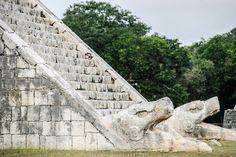 Base-of-Stairs-at-Temple-of-Kukulkan-at-Chichen-Itza-Mayan-Ruins-Yucatan-Mexico-L010163000.jpg