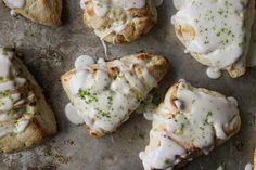 Coconut Lime Scones by Heather Christo, via Flickr
