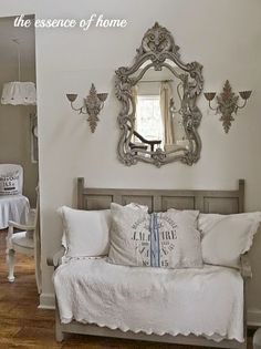On the Back Porch with Kelly of The Essence of Home - Cedar Hill Farmhouse Fancy Mirrors, Cedar Hill Farmhouse, Old Victorian Homes, Interior Architecture, Interior Design, Beautiful Living Rooms, French Decor, Home Hacks, My Dream Home