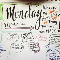 Got some fun answers for this one! Sparked some interesting conversations gettin… Got some fun answers for this one! Sparked some interesting conversations getting to know my kiddos! Morning Board, Morning Activities, Daily Writing Prompts, Bell Work, Responsive Classroom, Leadership, Classroom Community, Journal Prompts, Journal Topics