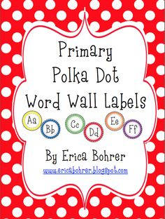 Erica Bohrer's First Grade: Classroom Decor
