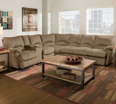 Lane 204 Alpine Sectional Group | Reclining Sectional and ...
